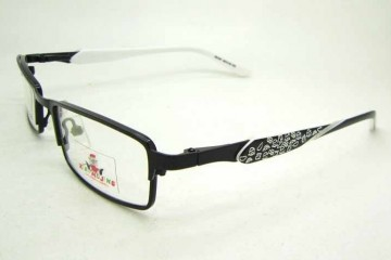 Cute metal full frame kids eyeglasses